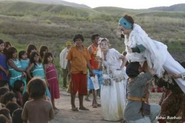 Gruppo Ygramul del 2012 in Brasile tra gli Indigeni Maxakalì