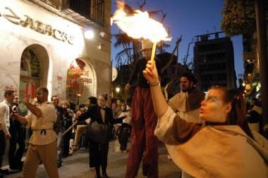 invasione urbana del Teatro Ygramul a Granada nel 2006
