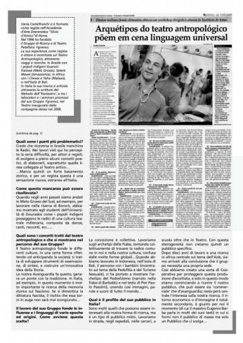 Intervista realizzata a Campinas (Brasile)