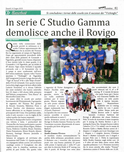 In serie C Studio Gamma demolisce anche il Rovigo