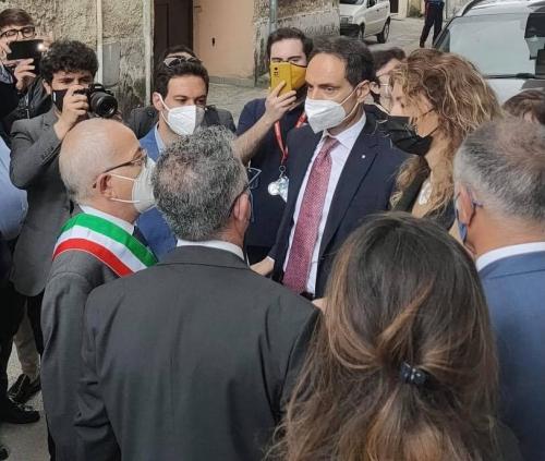 con il Ministro Erika Stefani siamo a #Caserta, precisamente a Casal di Principe