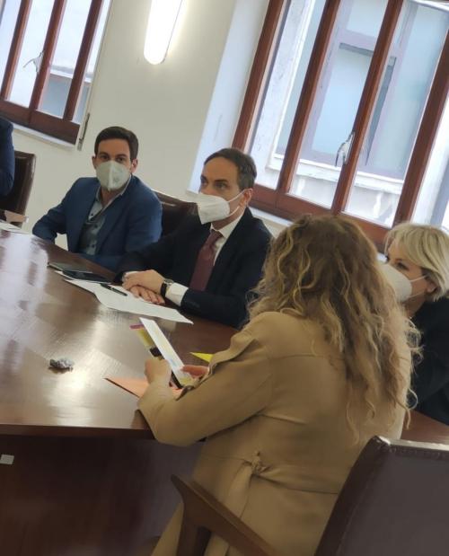 Visita istituzionale a #Napoli al Centro Martuscelli