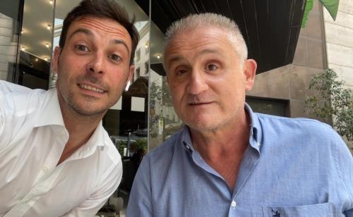 Stamane, presso il centro direzionale di #Napoli, ho incontrato il neo Presidente regionale della F.A.N.D. Giuseppe Ambrosino.