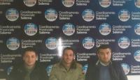 Il Senatore Pdl Giuseppe Esposito con i giovani della Valle dell'Irno