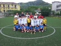 ANDREA BOVO incontra i giovani calciatori del Baronissi Calcio
