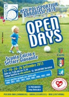 Open Days Baronissi Calcio
