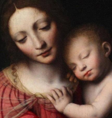 Madre e figlio * Bernardino Luini