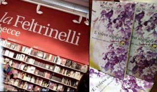 """Presso la libreria """"La Feltrinelli"""" di Lecce"""