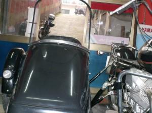 parabrezza sidecar motoguzzi