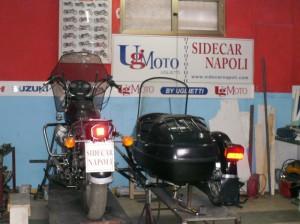 posteriore sidecar motoguzzi