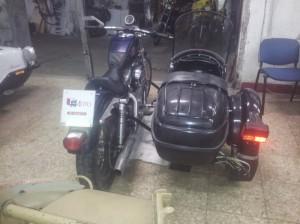 installazione sidecar