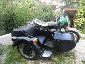 sidecar moto guzzi