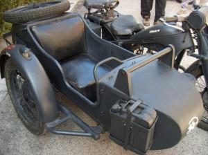 tanica benzina sidecar