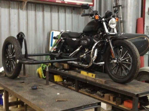 sidecar Harley Davidson Sportster