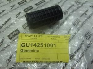 Gommino pedale freno e leva cambio GU14251001
