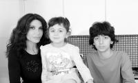Carmen Di Pietro con Alessandro e Carmelina