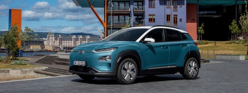 Kona Electric premiata ai Top Gear Electric Awards