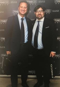 Con Maurizio Pellegrini (FINECO BANK)  ....................                                           27 Settembre  2018