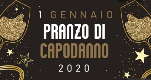 °*° PRANZO del 1 GENNAIO 2020 all'OSTERIA del RE °*°
