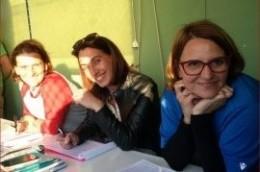Le classificatrici del Vicenza BSC, Valentina, Sara e Simona