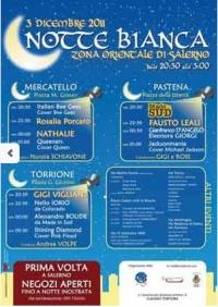 Valloweb - Salerno (Mercatello, Pastena, Torrione) - Notte Bianca - programma completo