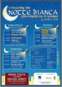 Lapilli - A Salerno, il tre dicembre, Notte Bianca nella zona orientale