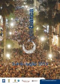 """Presentata stamani nel Salone del """"Gonfalone"""" del Comune di Salerno la V^ Edizione della """"Notte Bianca Week-End Salerno 2015""""."""