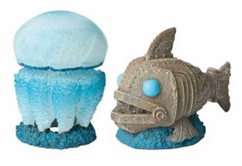 Hydor H2Show Atlantis Medusa + Pesce