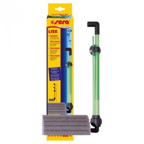 SERA filtro L 150 Filtro Interno ad Aria max 150 lt per Acquario