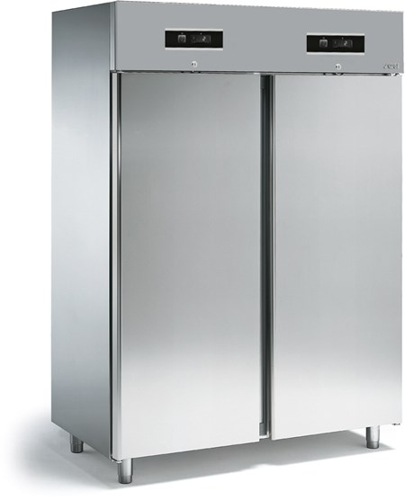 SAGI - Frigo/freezer combinato-GN2/1-AISI 304-Freezy New