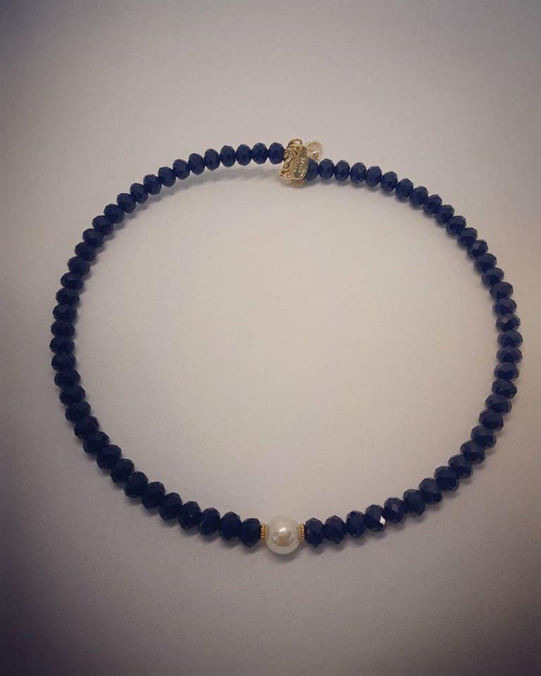 girocollo blu