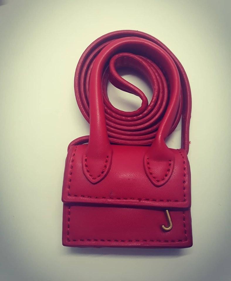 mini pochette rossa