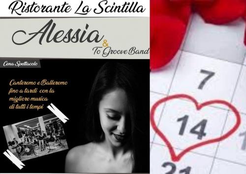 Una serata romantica alla Scintilla