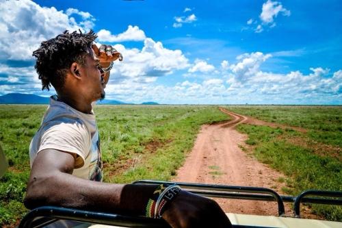 """SAFARI TSAVO EAST + GALANA Wildlife Conservancy 3 GIORNI AL """"CAMPO IN ESCLUSIVA"""""""