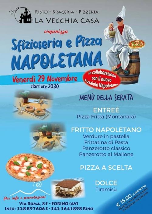 Sfizioseria e pizza napoletana
