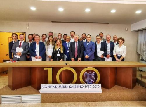 """Il Gal """"Terra E' Vita"""" celebra l'ingresso come nuovo socio di Confindustria Salerno. Soddisfazione espressa del Presidente Franco Gioia per il risultato raggiunto"""