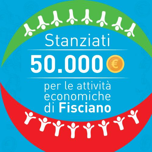 Contributi alle attività economiche. Stanziati 50mila euro per contributi sino a 400 euro per commercianti e piccoli imprenditori.
