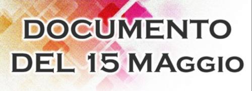 Pubblicato il documento del 15 maggio per la classe V Odontotecnico nella sezione DOWNLOAD