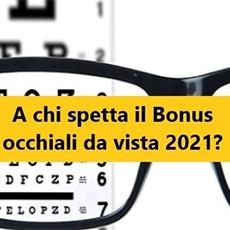 A chi spetta il bonus occhiali