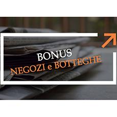 Bonus negozi: Spetta anche per concessione firmata e non perfezionata causa covid
