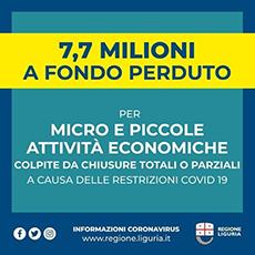 Bonus Ristori Regione Liguria - Modalità di ottenimento del bonus