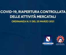 Regione Campania: Accolta la richiesta del Presidente della Fenailp Sabato Pecoraro per la riapertura dei mercati per il settore alimentare