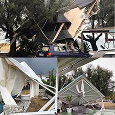 FeNAILP a sostegno del territorio catanzarese e degli imprenditori calabresi colpiti dall' evento calamitoso di temporali e trombe d'aria avvenuto oggi
