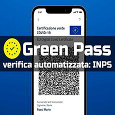 Green Pass: Ecco il servizio INPS di verifica per aziende oltre i 50 dipendenti