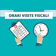 Novità INPS sugli orari delle visite fiscali 2021