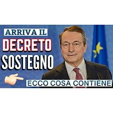 Decreto Sostegno (ex Ristori 5): Prime anticipazioni