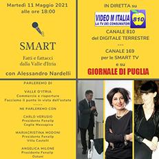 Martedì 11 maggio 2021 ore 18,00 - Smart: Fatti e Fattacci dalla Valle d'Itria –