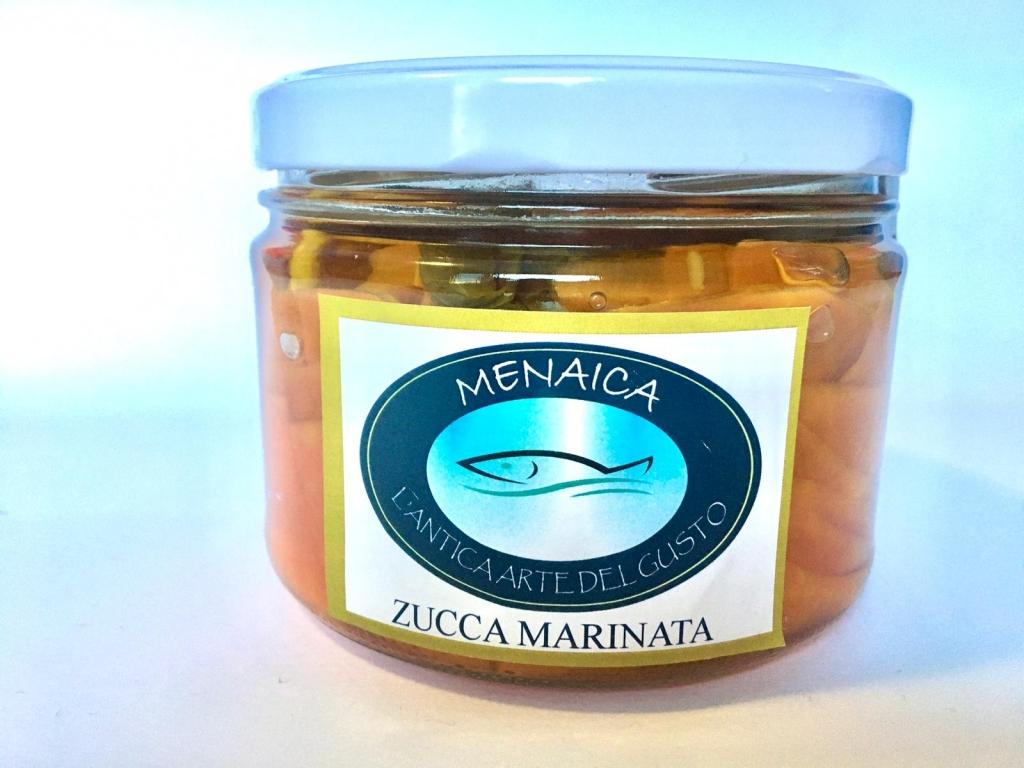 ZUCCA MARINATA DA 500 gr