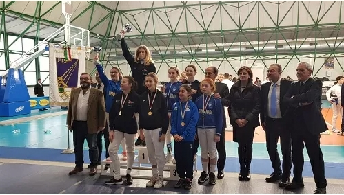 Scherma: ottimi risultati al GPG di Portici per la Nedo Nadi Salerno