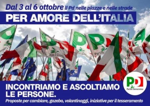 PER AMORE DELL'ITALIA